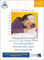 Clé Texte libre